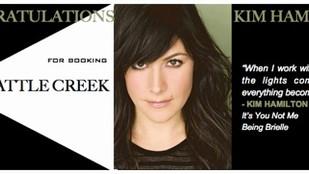 Kim booked Battle Creek!