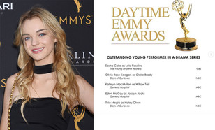 OLIVIA ROSE KEEGAN returns to DAYS OF OUR LIVES and snags a DAYTIME EMMY NOMINATION!