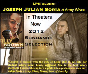 Congrats to JJ Soria for his film that is now a 2012 Sundance selection!!