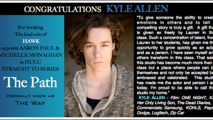 """Kyle is on """"The Path"""" to success!!"""