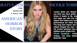 Nicole booked American Horror Story!