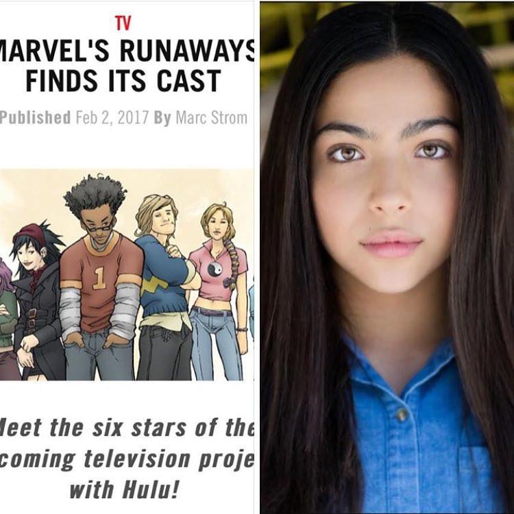 Marvel Runaway on Hulu