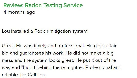 radon mitigation system review woodbury