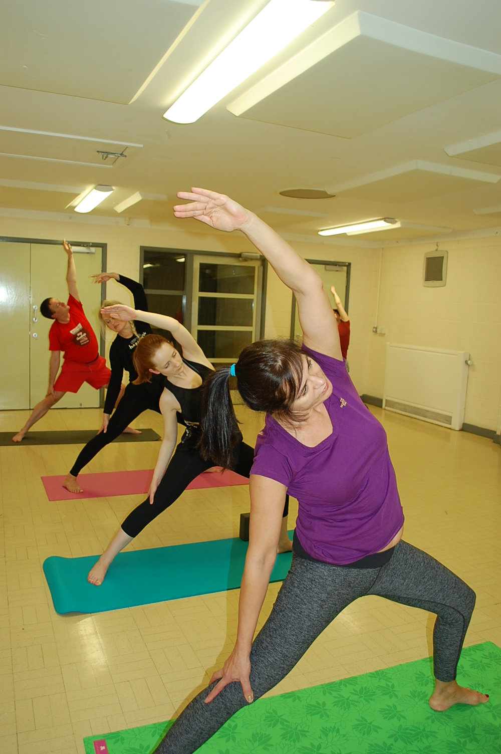 Monday Intermediate Yoga  6:00 - 7:00pm