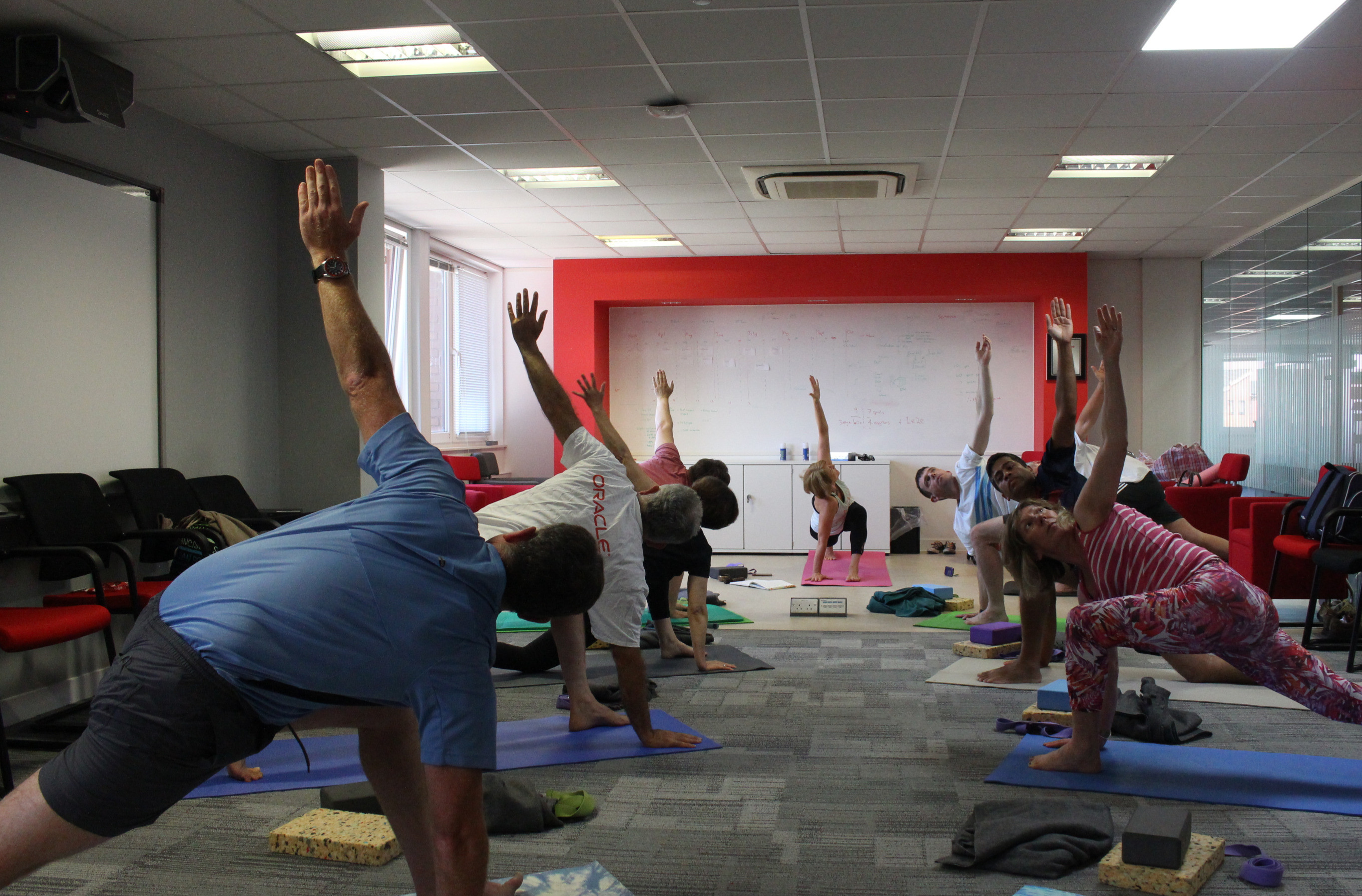Office Lunch Yoga Class