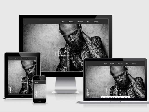 Die neue Webseite ist endlich online