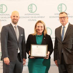 JPW writing wins international award for outstanding economic development reporting