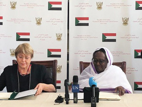 "Bachelet signs ""milestone agreement"" to open UN Human Rights Office in Sudan"