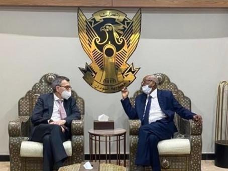 Arrival of Special Representative of the UN Secretary General and head of the UNITAMS in Khartoum
