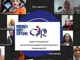 CONCLUSION OF THE REGIONAL TRAINING COURSE OF INTERNATIONAL HUMAN RIGHTS PROTECTION MECHANISMS