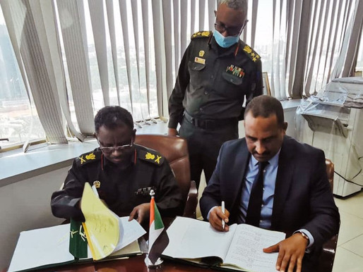 MoU signed with the Sudanese Armed Forces