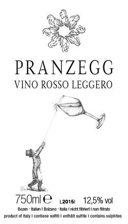 Pranzegg_vino rosso leggero_2015_0,75l