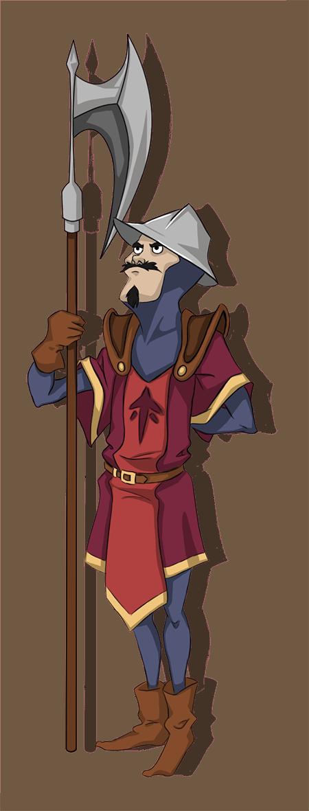 captain of the guard concept