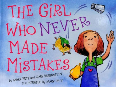 Book of the week - The Girl Who Never Made Mistakes