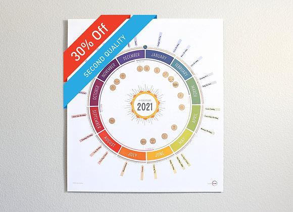 A Year Round Calendar : 2nd Quality