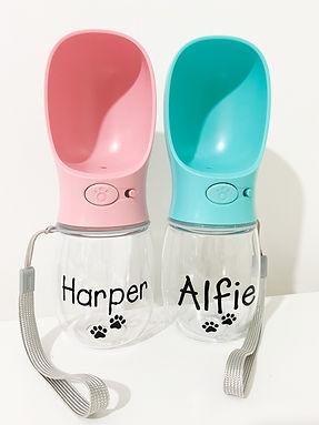 Personalised Pet Water Bottles