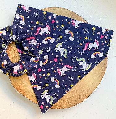 Unicorn Dreams Pet Bandana