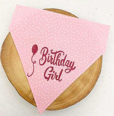 Birthday Girl Pet Bandana