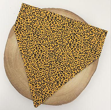Mustard Leopard Pet Bandana