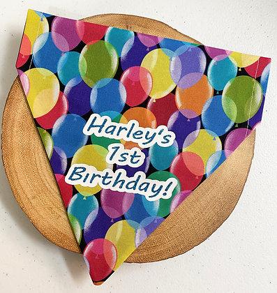 Personalised Birthday Pet Bandana