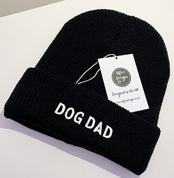 Black Dog Dad Hat