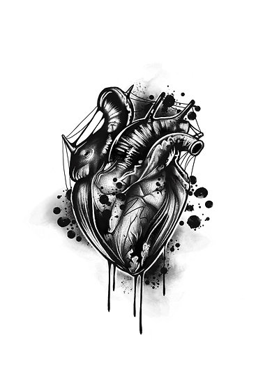 Bleeding Heart A5 Print