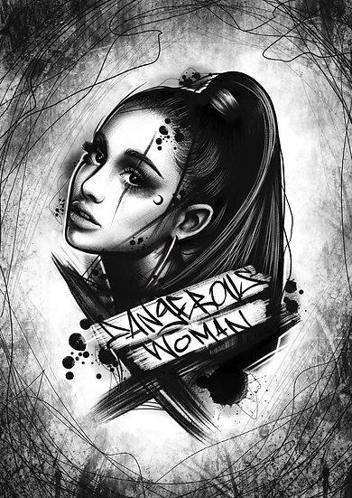 Dangerous Woman A4 print