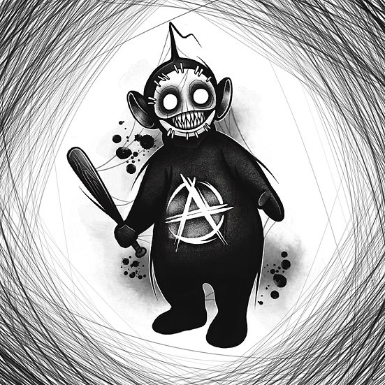 Demon Tubby 20x20 print