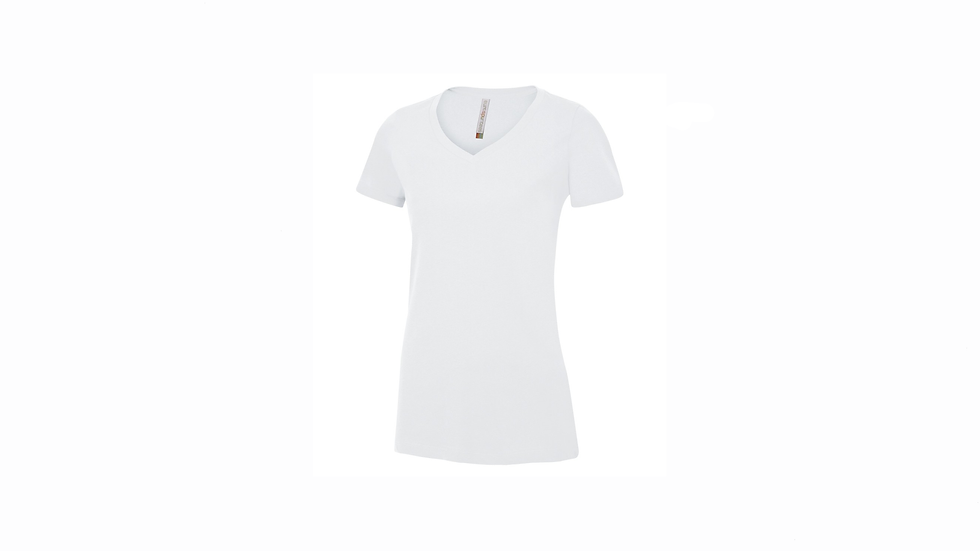 ATC LADIES EUROSPUN  V-NECK  T-SHIRT