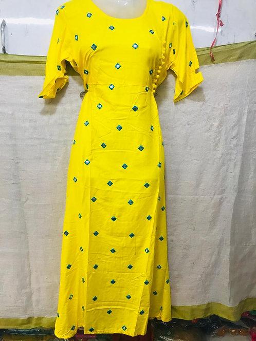 Bright yellow Top