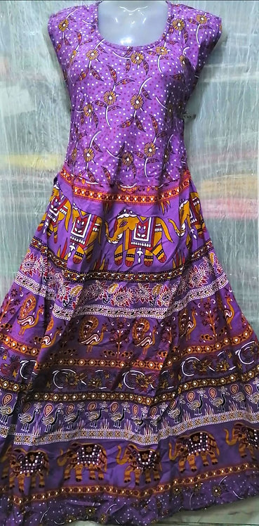 Jaipur cotton gown
