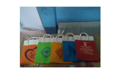 Jute Thambulam Bag
