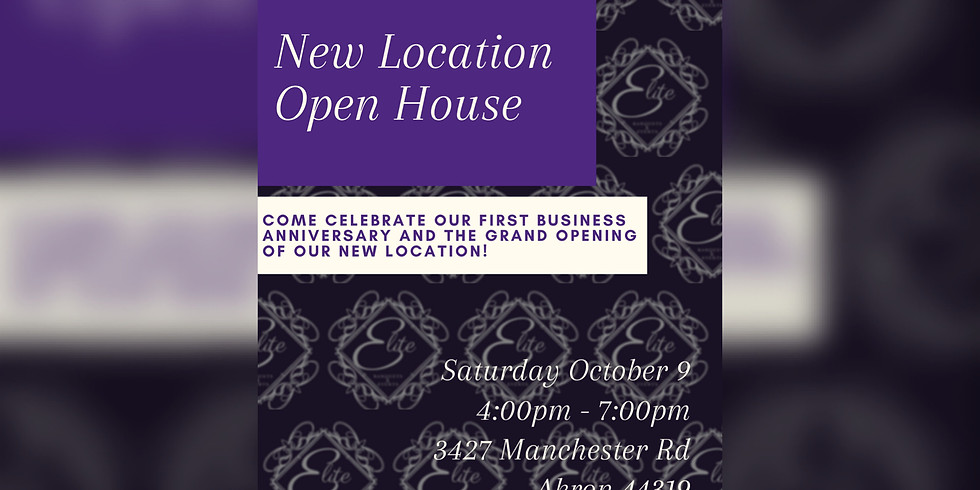 New Location Open House
