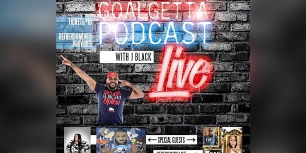 Goalgetta Podcast LIVE