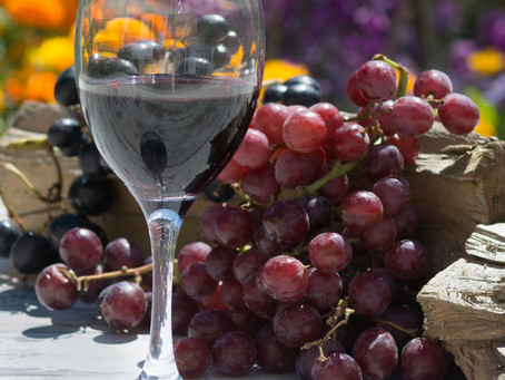 Could a compound found in red wine treat depression?