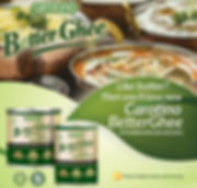 Food made with Carotino BetterGhee