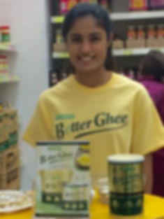 Promoting Carotino BetterGhee in store