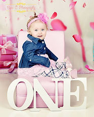 baby one year photos