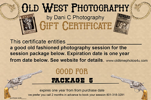 Old Time Photos package #5