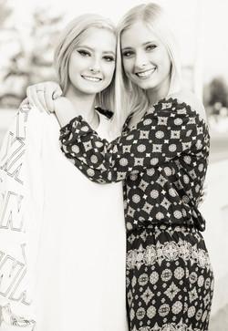 senior pictures twins