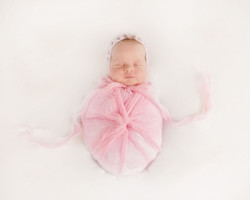 pink see through cheesecloth wrap