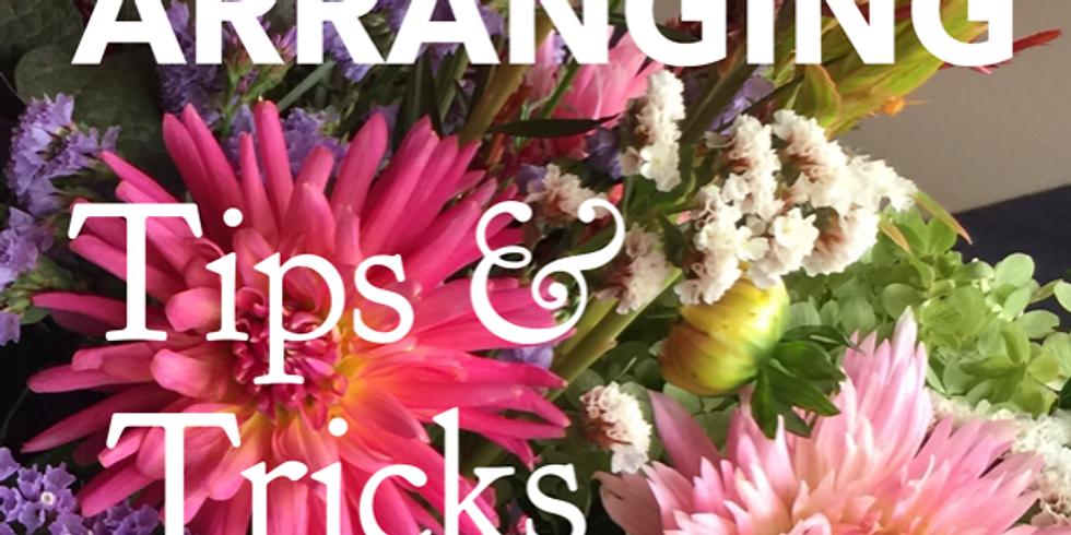Flower Arranging Tips & Tricks