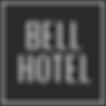 Logo Bell Hotel - (Wit Zwarte achtergron