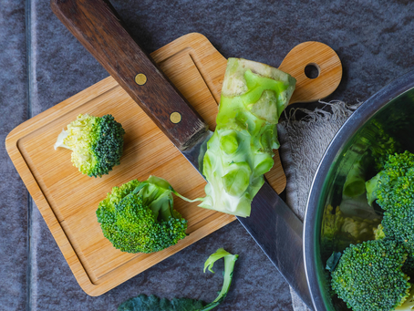 Here's how you can use leftover broccoli stems