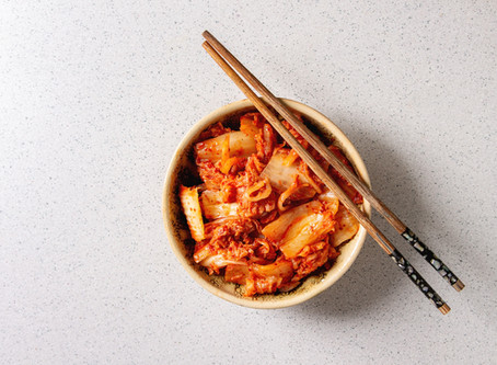 Let's talk about Fermented Foods- Kimchi