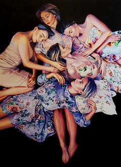 Women #2, Oil on Canvas, 180x130 cm