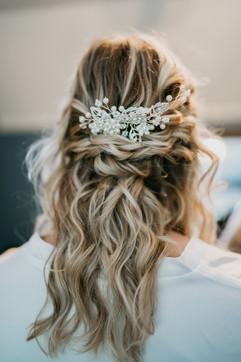 Perfect Boho Bridal Waves