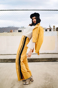 Paris meets New York in Asheville Editorial Photoshoot