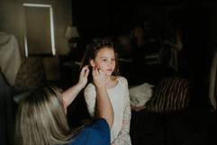 Flower Girl Hair & Makeup