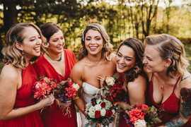 Vintage Glam at The Farm - A Gathering Place Wedding